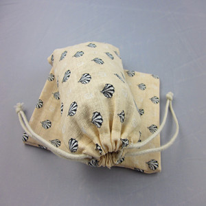 Various drawstring jute candy bag