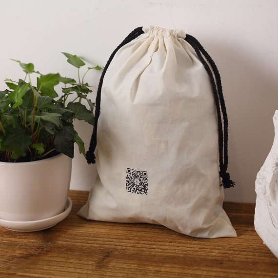Cotton Muslin Drawstring Bag Wholesale